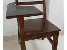 صندلی چوبی مخصوص دانش آموزان 1353 بدون زدگی در شیپور-عکس کوچک