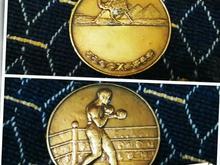 مدال برنز مسابقات بکس در شیپور-عکس کوچک