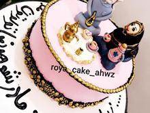 پذیرش سفارشات کیک خامه ای و فوندات و انواع ژله در شیپور-عکس کوچک