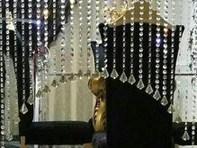 پرده کریستالی لوکس در شیپور-عکس کوچک