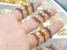 انگشتر میکرو ایتالیایی نقره در شیپور-عکس کوچک