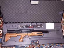 تفنگ بادی هاتسان بولباس سنتتیک و چوبی آکبند ۵.۵ در شیپور-عکس کوچک
