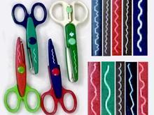 قیچی های فانتزی طرح های مختلف دالبور ۱۲ عدد در شیپور-عکس کوچک