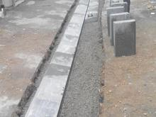 جدول کاری سنگ فرش محوطه جدول کشی  در شیپور-عکس کوچک
