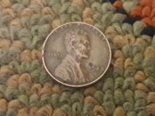 سکه وان سنت تاریخ کمیاب 1948 میلادی آمریکا در شیپور-عکس کوچک