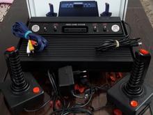 آتاری حافظه دار قدیمی در حد نو و آک سیستم تصویر AV در شیپور-عکس کوچک