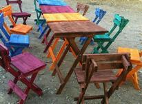 میز صندلی تاشویی گناوه در شیپور-عکس کوچک