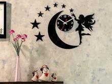 ساعت دیواری روکش مخمل آنجل   در شیپور-عکس کوچک