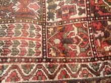 فرش قدیمی 80ساله،9متری اتیغه،پشم بز در شیپور-عکس کوچک