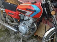 موتور 200 سالم با پلاک ملی در شیپور-عکس کوچک