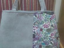 کیف پارچه ای شیک در شیپور-عکس کوچک