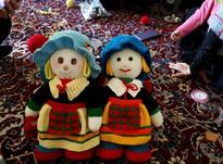 عروسک دستبافت در شیپور-عکس کوچک