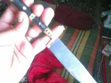 چاقوی عتیقه با مینا کاری بسیار قدیمی سه عدد موجود  در شیپور-عکس کوچک
