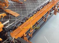 ساخت دستگاه فنس بافی دستگاه توری بافی کسب درامدعالی تولیدفنس در شیپور-عکس کوچک