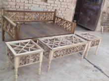 تخت سنتی و نیمکت و مبلمان سنتی در شیپور-عکس کوچک