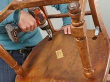 تعمیرات کلیه اجسام چوبی در محل شکستگی لقی و .... در شیپور-عکس کوچک