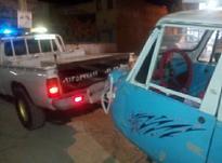 امدادخودرو نیسان یدک کش چرخگیر دار خودروبر در شیپور-عکس کوچک