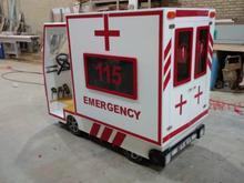 ماشین آتش نشانی و آمبولانس کودک در شیپور-عکس کوچک