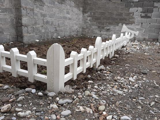 سنگ دور باغچه طرح چوبی در گروه خرید و فروش خدمات و کسب و کار در مازندران در شیپور-عکس1