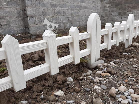 سنگ دور باغچه طرح چوبی در گروه خرید و فروش خدمات و کسب و کار در مازندران در شیپور-عکس2
