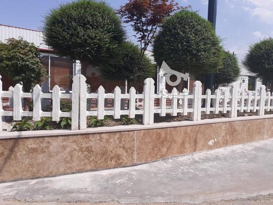 سنگ دور باغچه طرح چوبی در گروه خرید و فروش خدمات و کسب و کار در مازندران در شیپور-عکس3