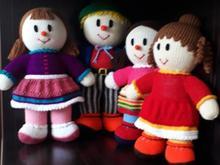 عروسک های دست باف در شیپور-عکس کوچک