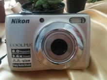 دوربین دیجیتال نیکون 8 پیکسل صفر و تمیز و باکیفیت  در شیپور-عکس کوچک