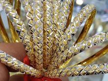 النگوی نقره مشابه طلا اصل 925 ترکیه در شیپور-عکس کوچک