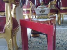 میز جلو صندلی سه گوش در رنگ های مختلف در شیپور-عکس کوچک