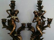 مجسمه شمعدان دو تیکه در شیپور-عکس کوچک