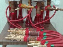 قلیان چوب سرخ آس در شیپور-عکس کوچک