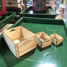 جعبه میوه کوچک دکوری مناسب گاری سنتی کوچک در شیپور-عکس کوچک