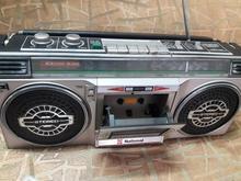 رادیو کاست دولب ژاپنی ناتیونال سالم در شیپور-عکس کوچک