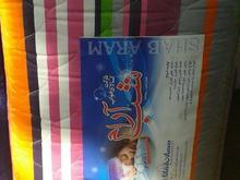 تشک مسافرتی مهمان طبی آکاردئون رویه بالشت رو تختی در شیپور-عکس کوچک