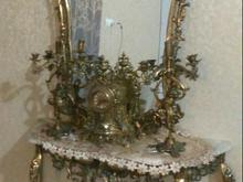 آینه و شمعدان برنزه  در شیپور-عکس کوچک