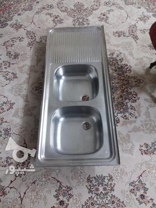 سینک دو قلو ظرفشویی در گروه خرید و فروش لوازم خانگی در اصفهان در شیپور-عکس1