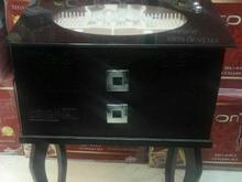 جعبه کنسول قاشق چنگال چوبی ۱۲۵پارچه در شیپور-عکس کوچک