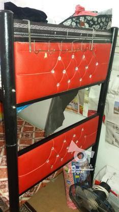 تخت خواب دوطبقه اهنی بدون تشک در گروه خرید و فروش لوازم خانگی در سیستان و بلوچستان در شیپور-عکس1