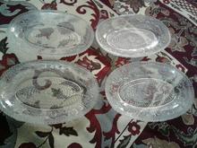 مقداری ظرف بلور ایرانی قدیمی در شیپور-عکس کوچک