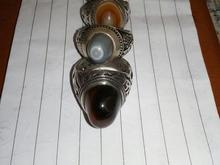 4تا انگشتر نقره دستساز قدیمی در شیپور-عکس کوچک