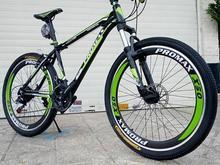 دوچرخه مشکی سبز اکبند در شیپور-عکس کوچک