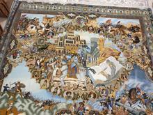 مزایده تابلو فرش نفیس طرح سلاطین در شیپور-عکس کوچک