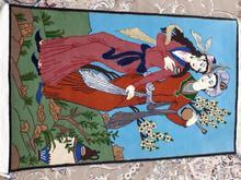 قالیچه دستباف لیلی ومجنون نونفیس  در شیپور-عکس کوچک