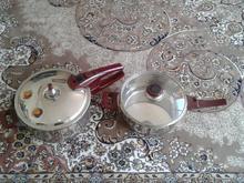 زودپز دوقلو دارای قابلمه بخار پز نو استفاده نشده  در شیپور-عکس کوچک