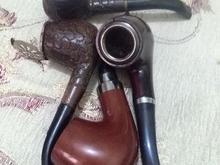 فندک زیپو و 4عدد پیپ قدیمی  در شیپور-عکس کوچک