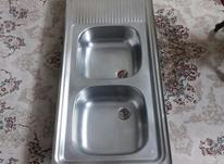 سینک دو قلو 50*120 سانت در شیپور-عکس کوچک