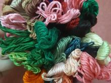 نخ کوبلن رنگ گوناگون در شیپور-عکس کوچک