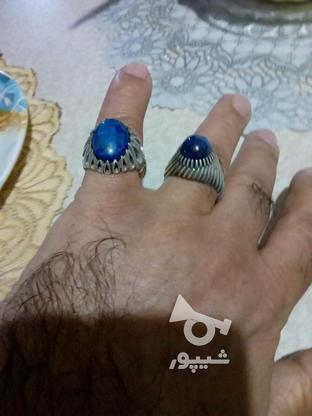انگشتر یاقوت اصل و عقیق یمن و فیروزه کار دست در گروه خرید و فروش لوازم شخصی در تهران در شیپور-عکس1