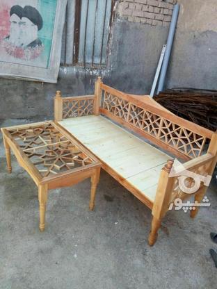 تخت و نیمکت سنتی در گروه خرید و فروش لوازم خانگی در اصفهان در شیپور-عکس1