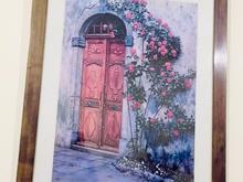 تابلوی نقاشی با قاب چوبی کاردست نقاش در شیپور-عکس کوچک